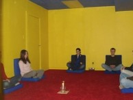 A special dedicated meditation room at the Toronto Center, where I would later go on to do many more meditation practices